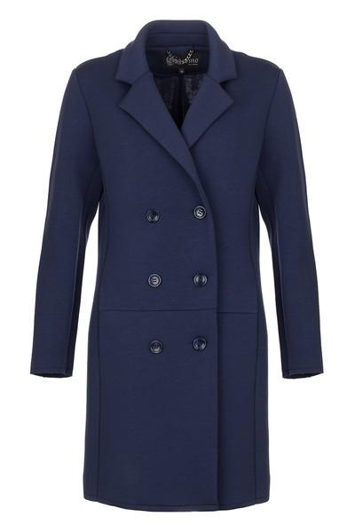 Donkerblauwe dames jas Giacomo - 66.11.502