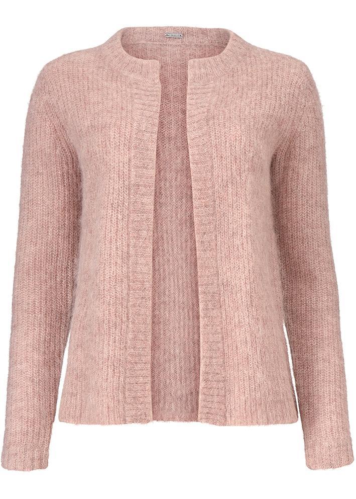 Roze dames vest Gustav - 28420
