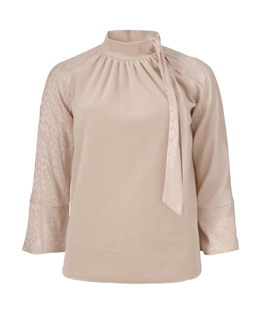 Lichtroze dames blouse Gustav - 28704