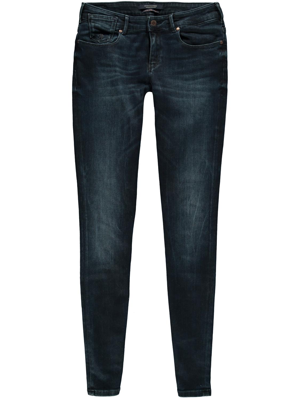 Blauwe skinny jeans Maison Scotch - 100786