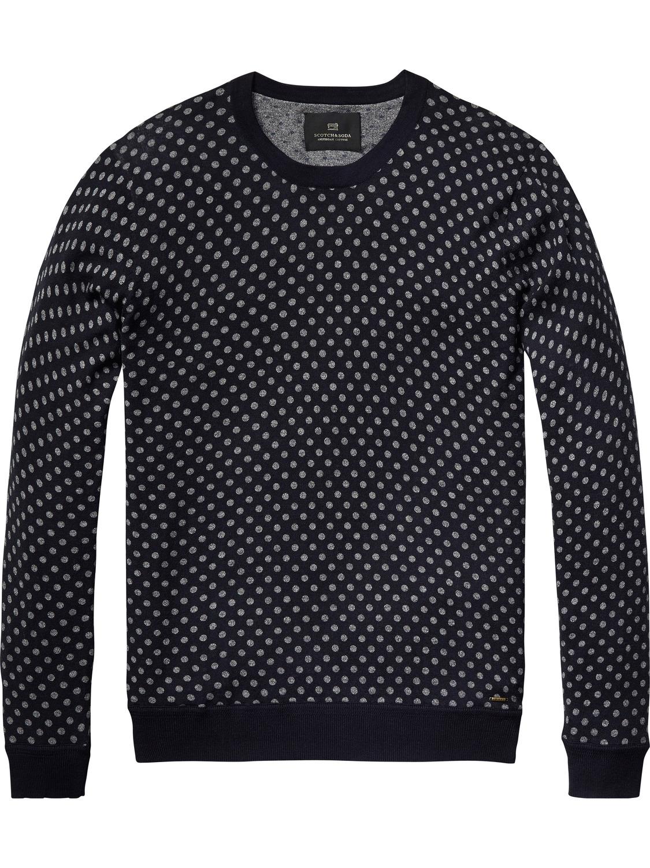 Blauwe heren sweater Scotch&Soda 101669