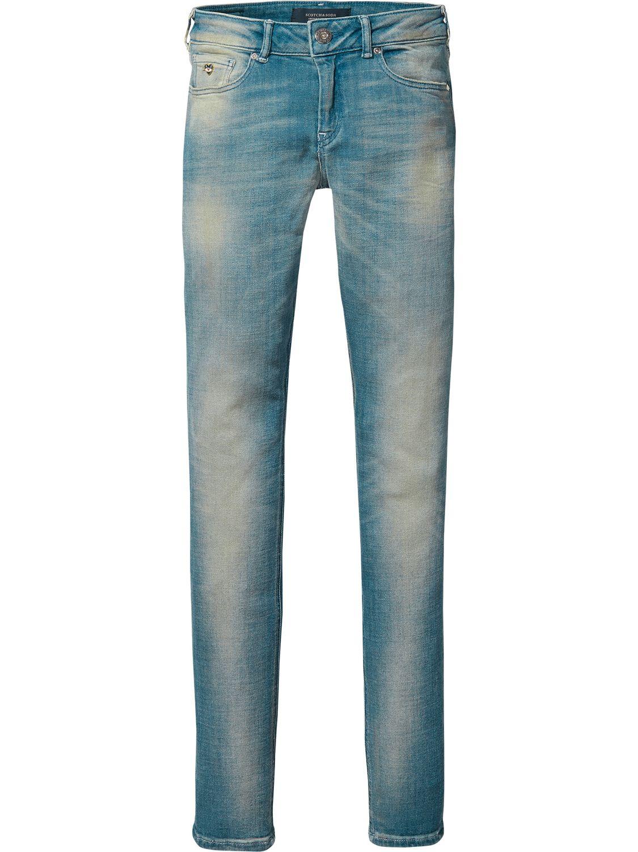 Blauwe dames jeans Maison Scotch - 138654