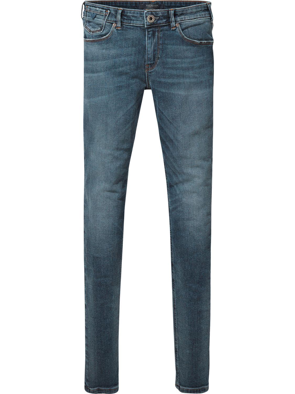 Blauwe dames jeans Maison Scotch - 140921