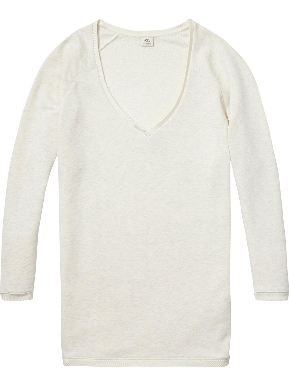 Beige dames sweaterjurk Maison Scotch - 138617