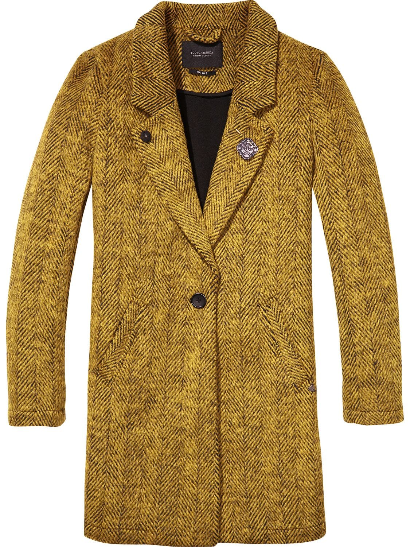 Gele dames jas Maison Scotch - 140525
