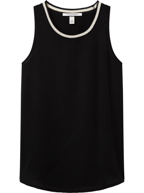 Zwarte dames top Maison Scotch - 143780