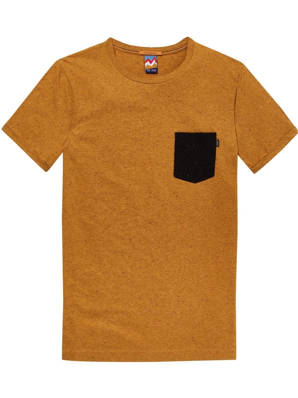 Bruin heren t-shirt Scotch & Soda - 147354 - 2490