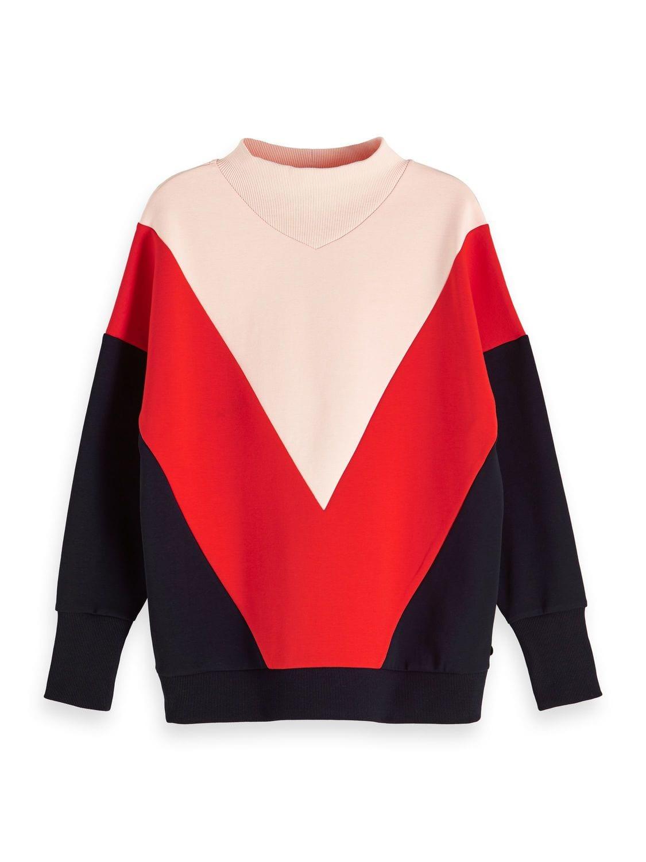Dames sweater met hoge hals Maison Scotch - 147750