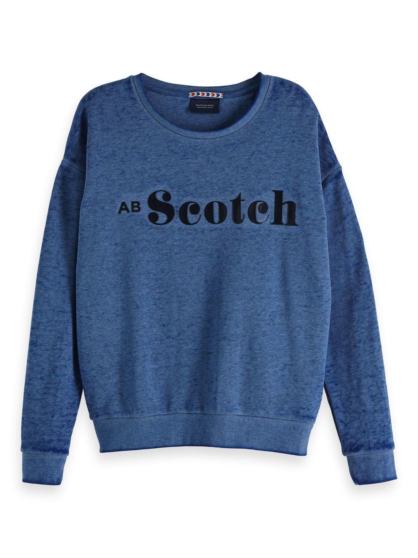 Blauwe dames trui Maison Scotch - 147564