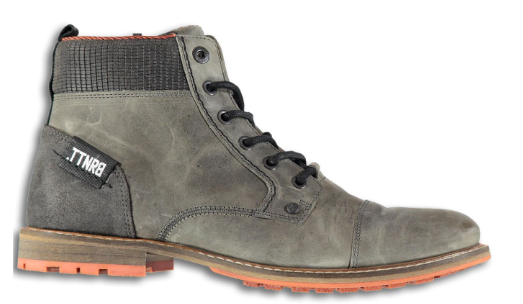 Grijze heren schoen Brunotti - Baone - 0100 grey