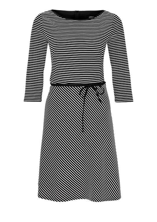 grijze dames jurk