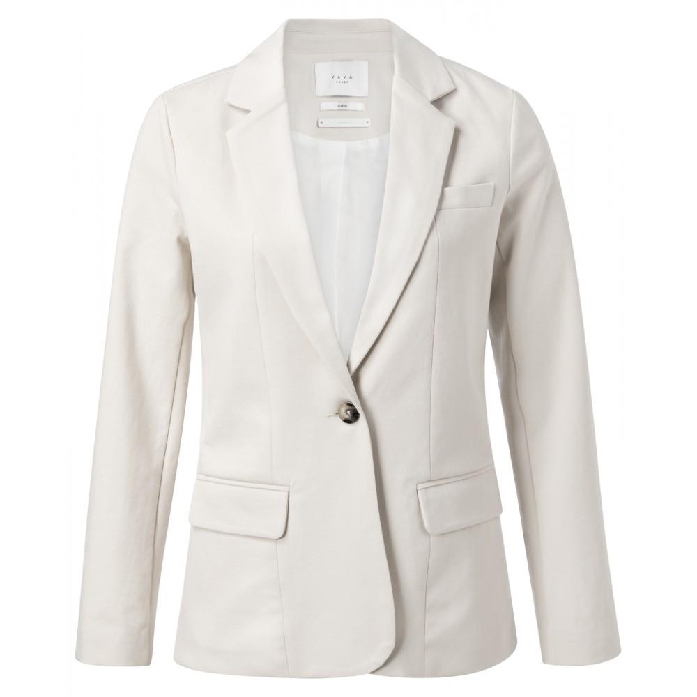 Ecru dames blazer - YaYa - 99209