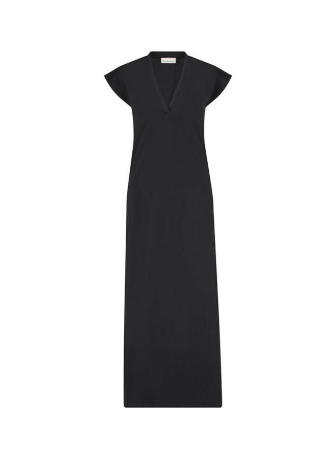 Zwarte dames jurk - Penn&Ink - S21N999LTD - black