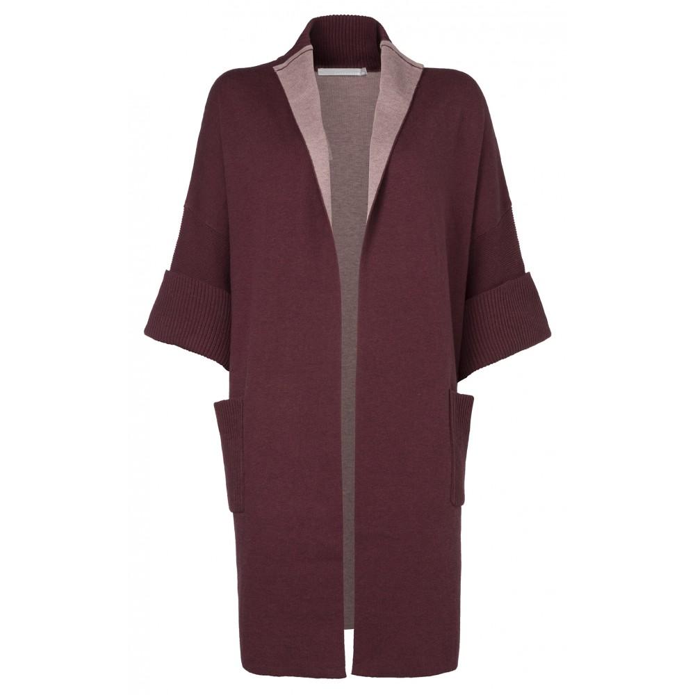 Rood dames vest YAYA 004120-622