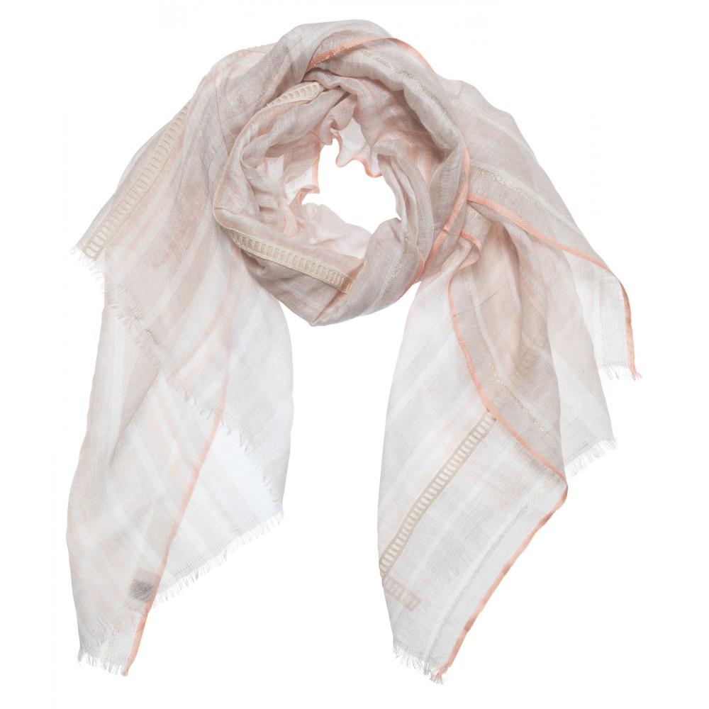 Roze dames sjaal - YaYa - 130184-014 - 413161