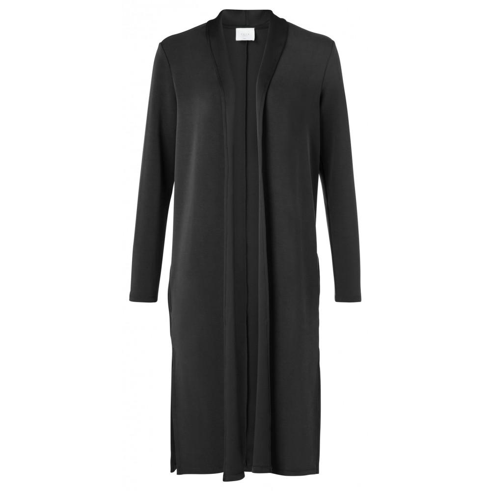 Zwart dames vest YAYA - 101950N