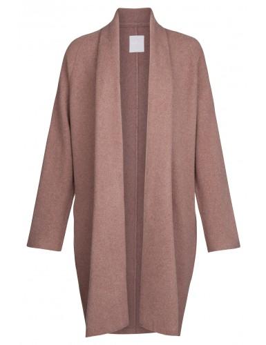 Bruin lang dames vest Yaya - 004309/725