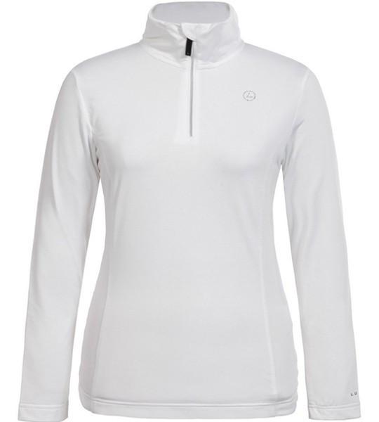 Witte dames ski pully Luhta - Vellamo