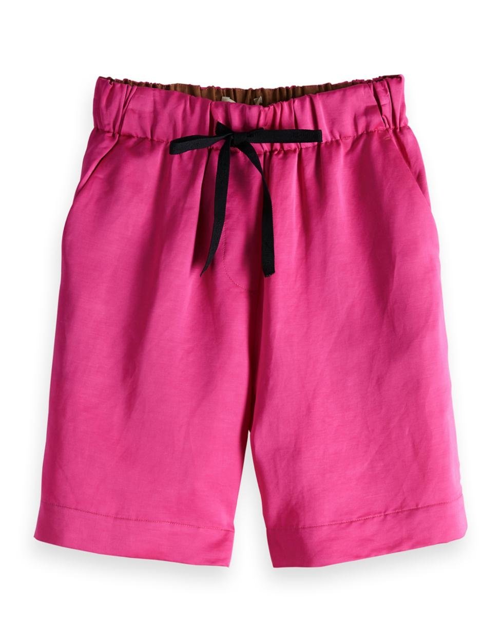 Roze dames short Maison Scotch - 149971