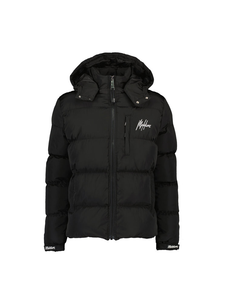 Zwart jas Malelions - Astro Puffer 900