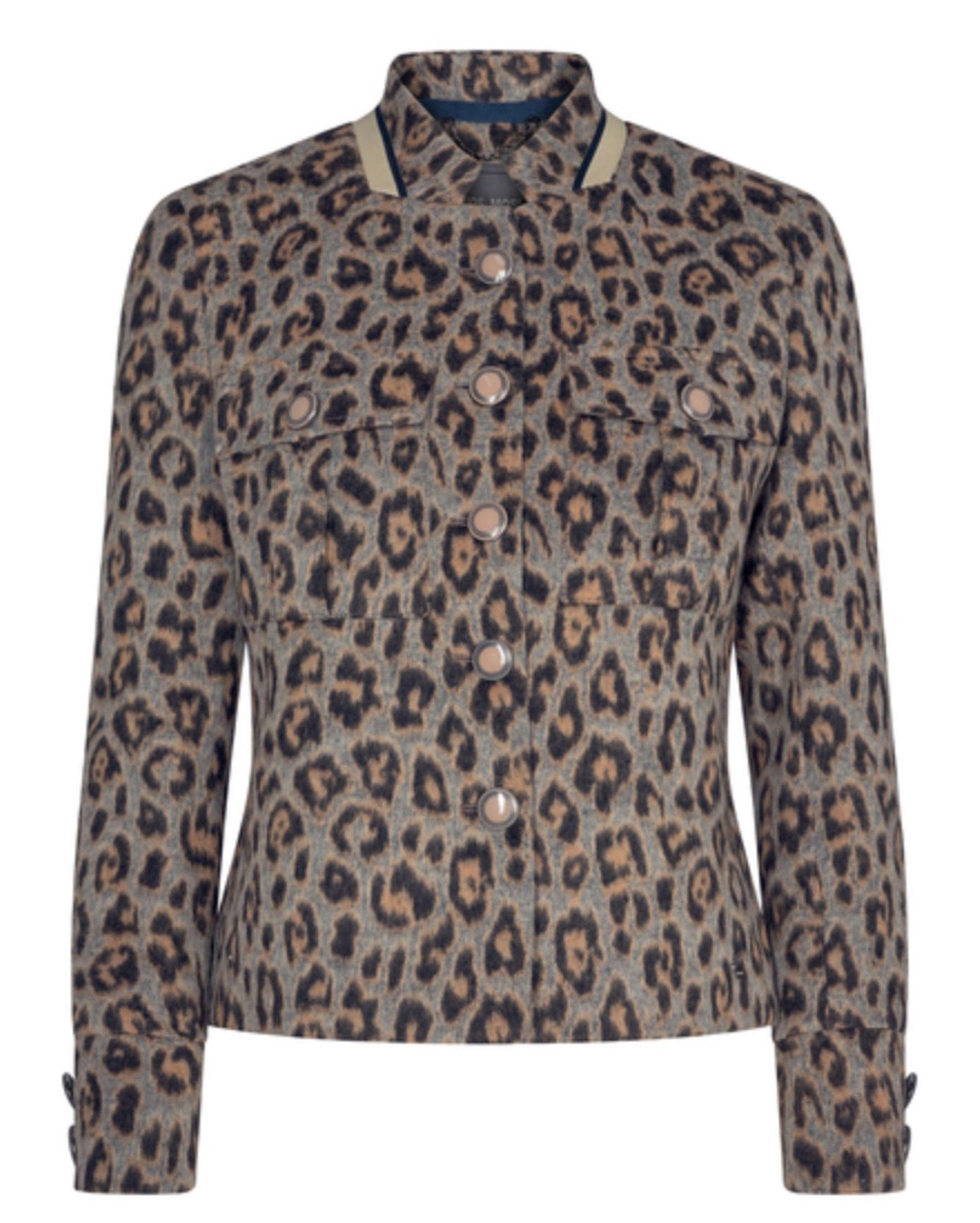 Grijs dames jack - Mos Mosh Selby dash jacket - 140220-494