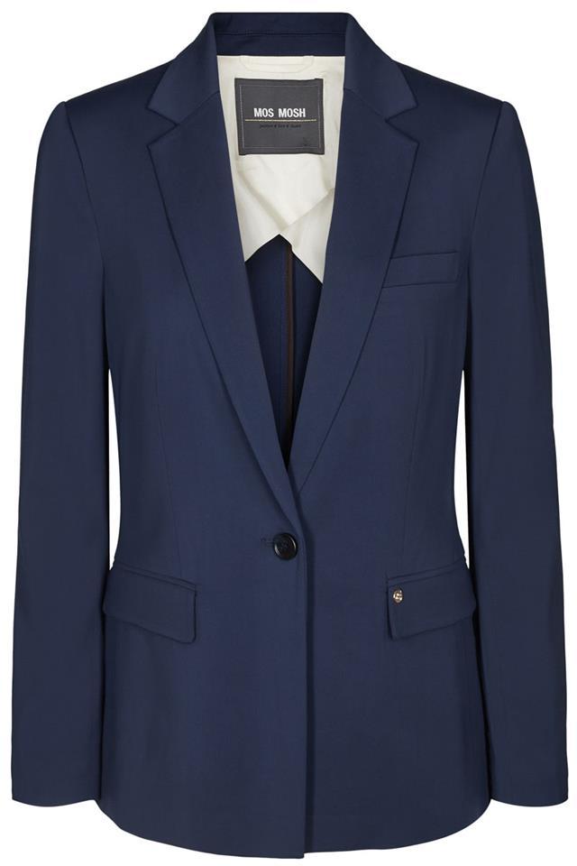 Donker blauwe dames blazer Mos Mosh - 127310-445