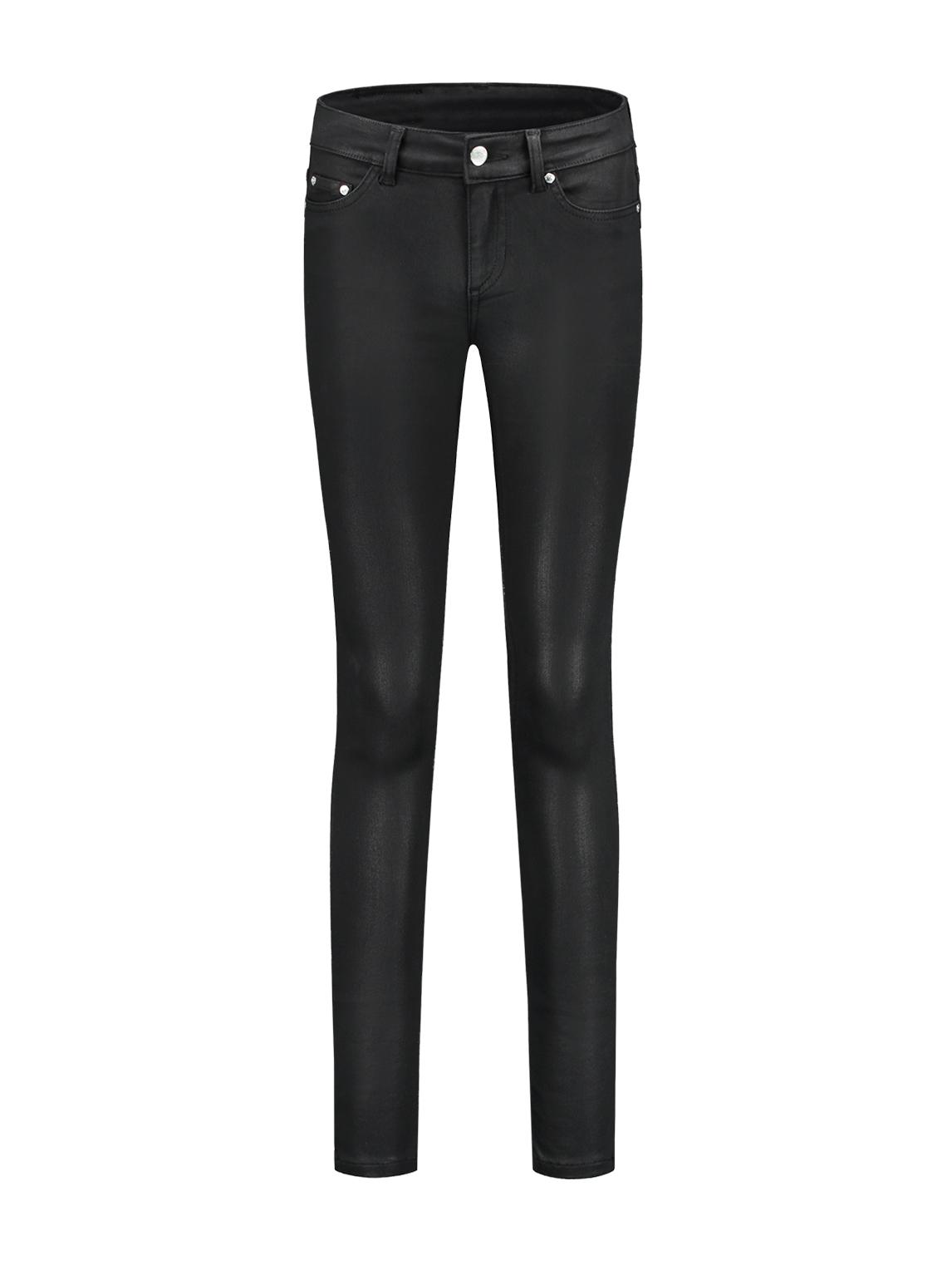 Zwarte coating dames broek Nikkie - N2-326 1705 8503