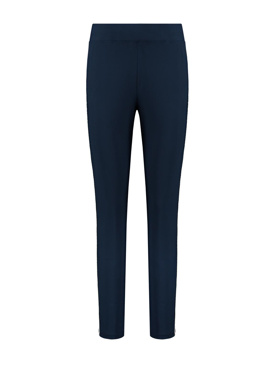Donkerblauwe dames broek Nikkie - Nikkie Suzy Pant - N2-324 1904 7800