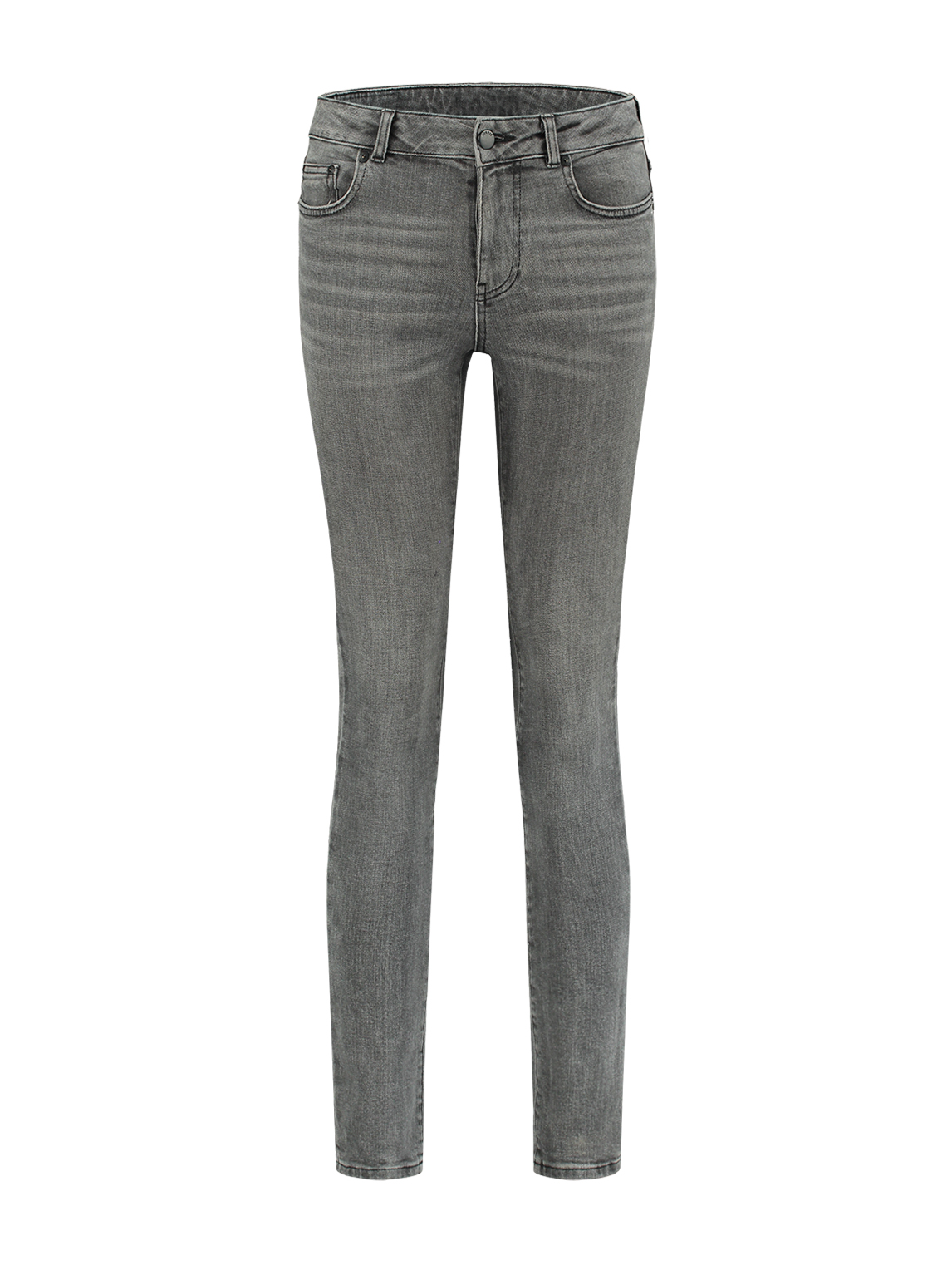 Grijze skinny dames jeans Nikkie Betty Skinny Jeans - N2-518 1805 8125