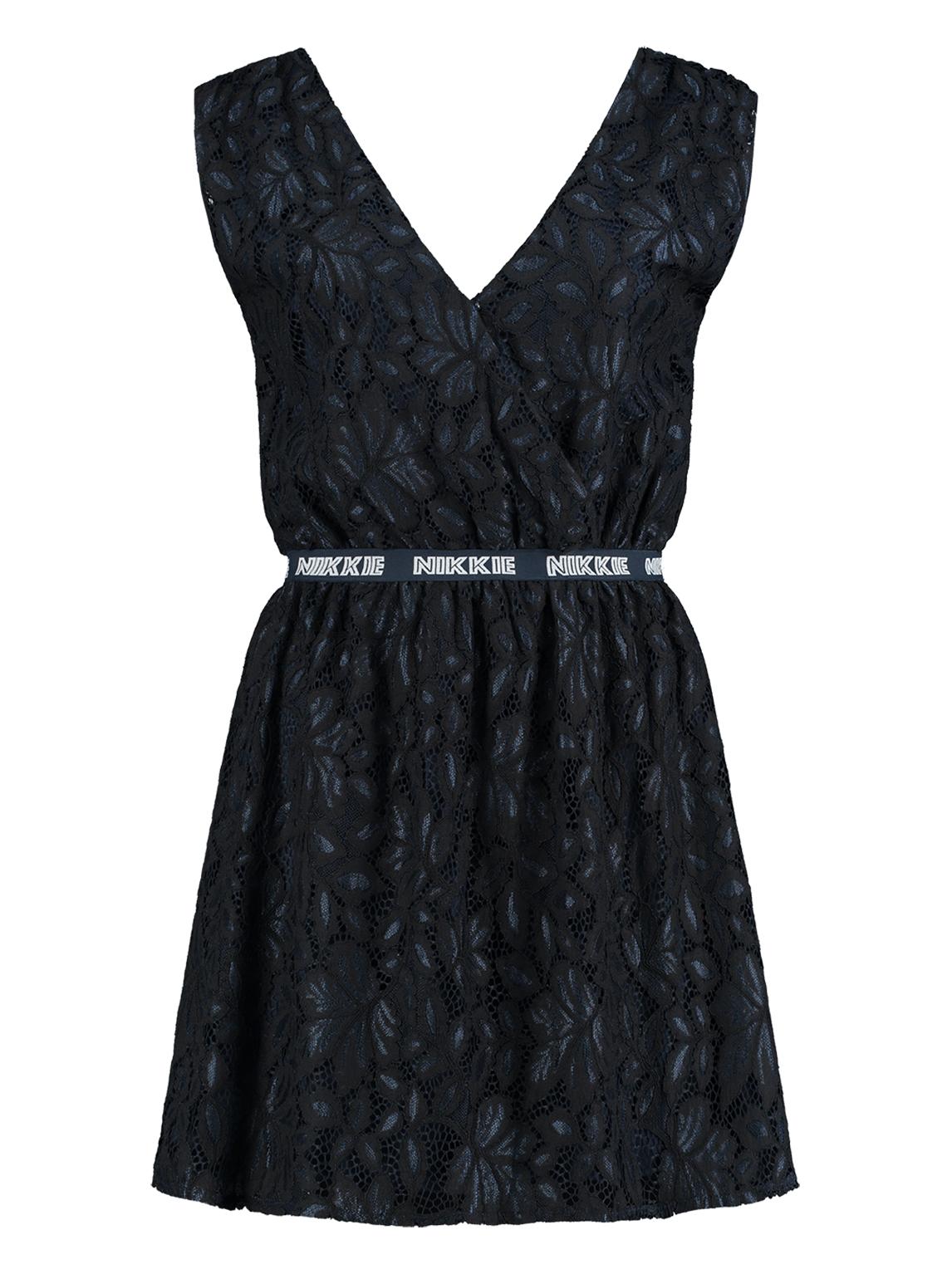 Donker blauwe dames jurk Nikkie - Silvia Dress - N5-252 1904 7800