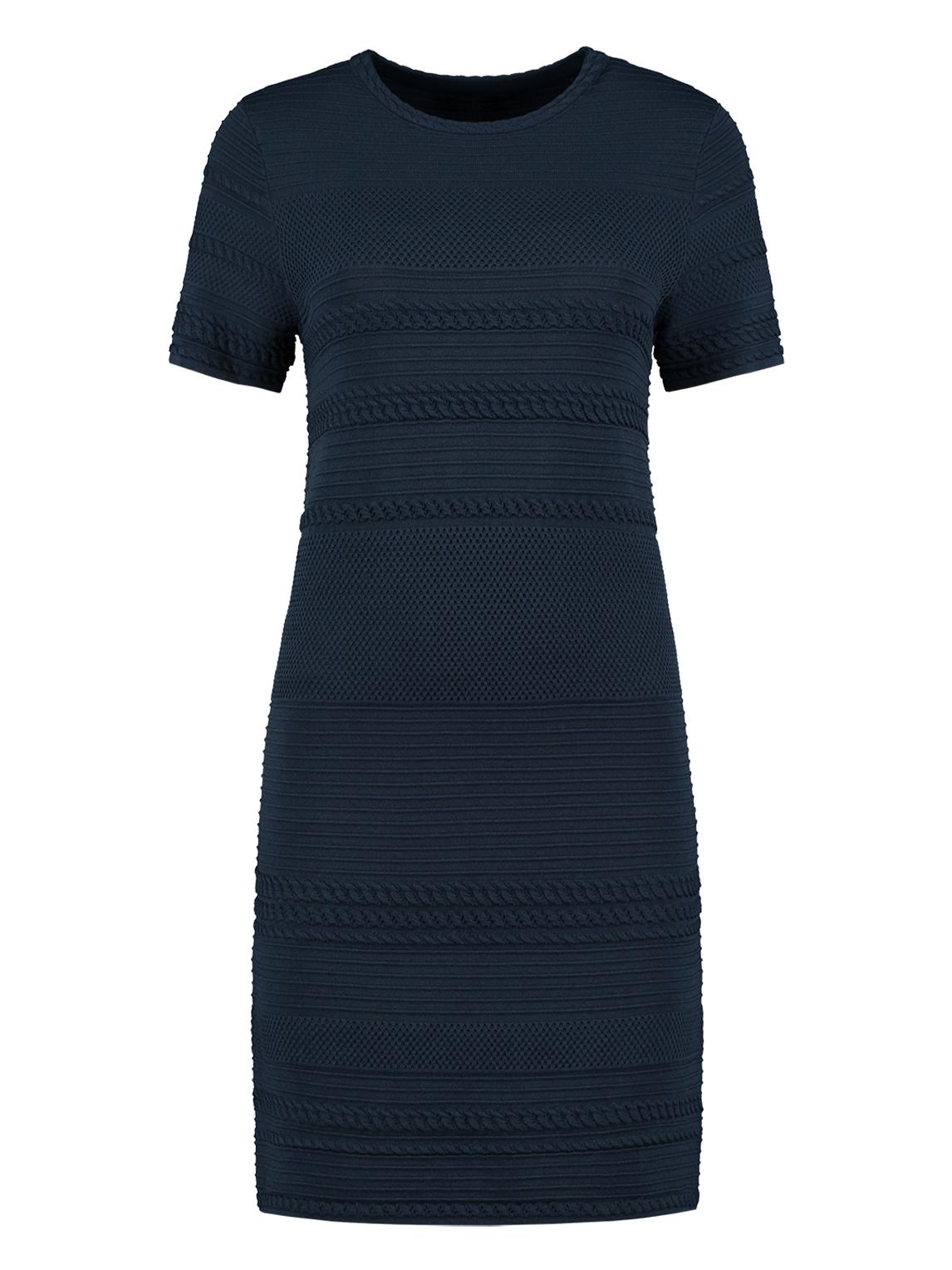 Donker blauwe dames jurk Nikkie - Janel Dress - N7-395 19047800