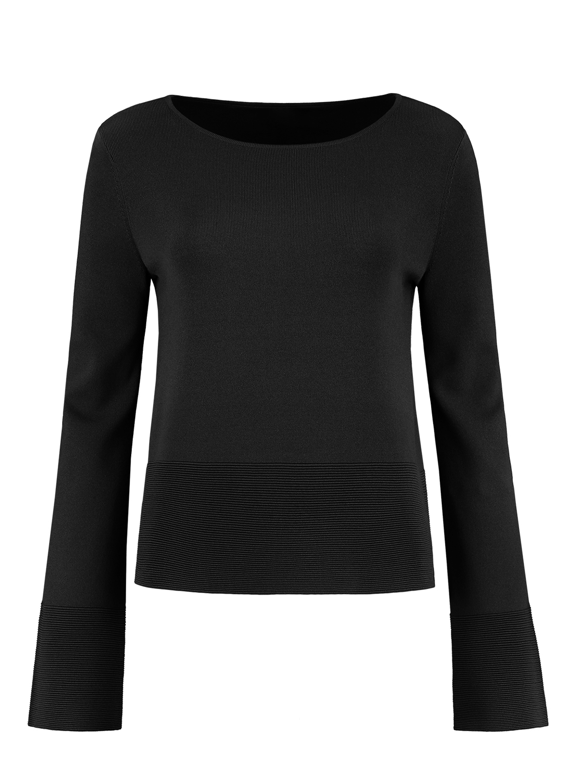 Zwarte dames top Nikkie - Jules Top - N7-484 1905 9000