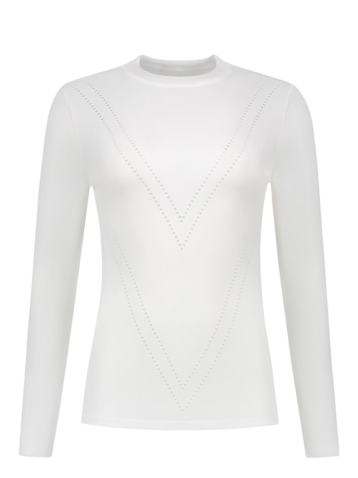 Witte dames top Nikkie Patty Top Solid - N7-866 1901 2000