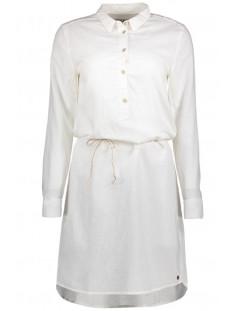 Witte linnen/katoenen damesjurk - Garcia