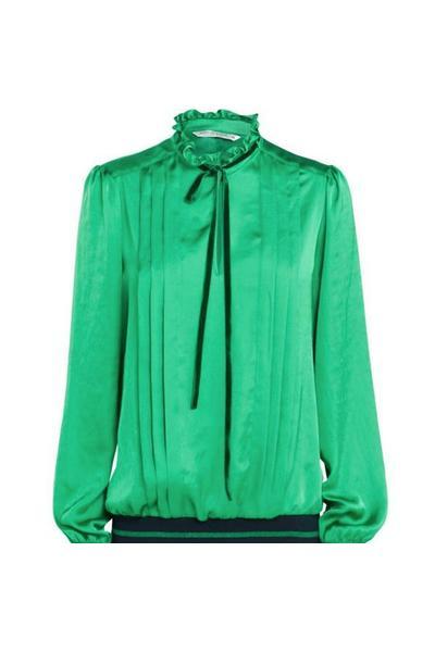 Groene dames blouse Summum - 2S2113-10645