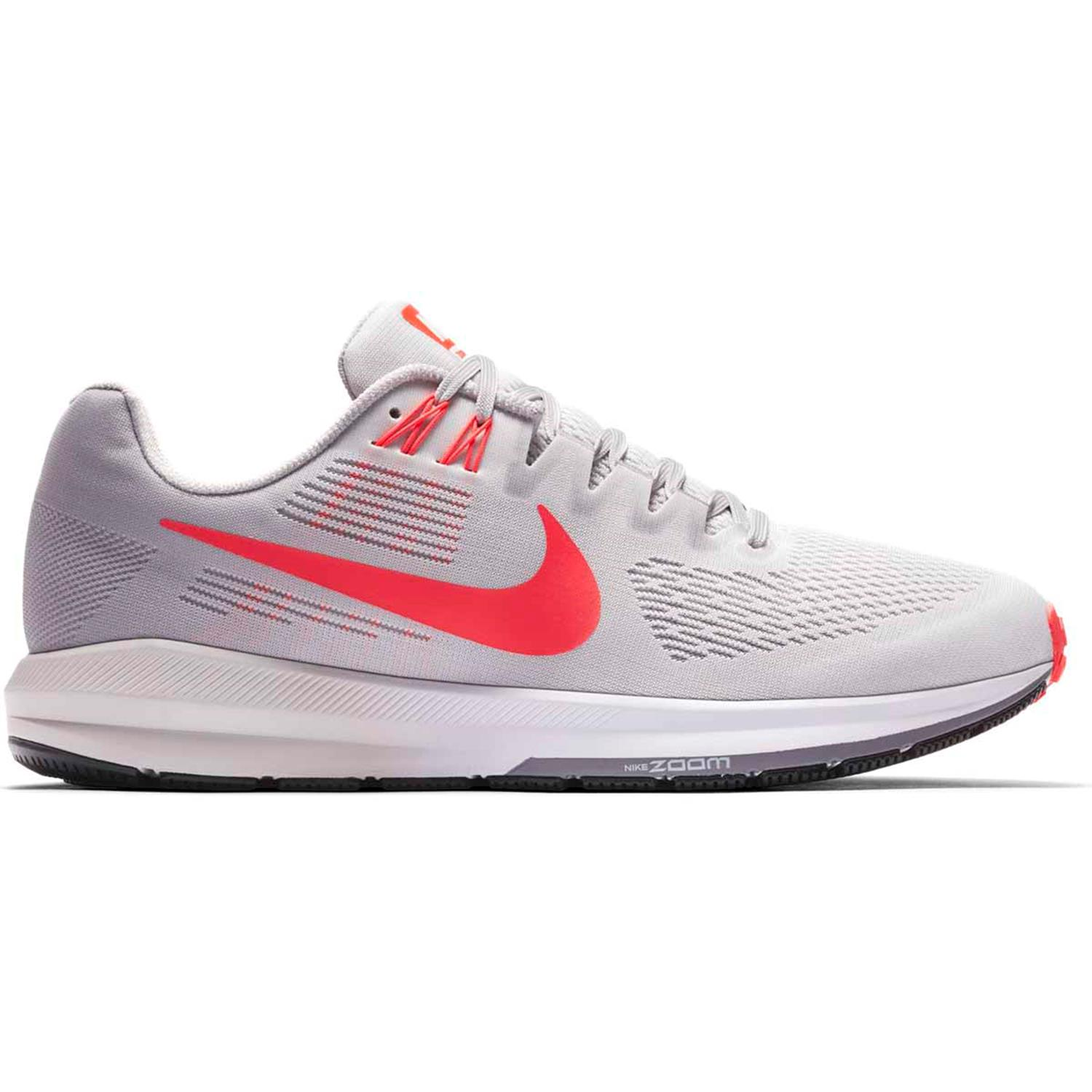 hot sales 10f7b cbdfe Grijs rode Heren Hardloopschoen Nike Air zoom structure 21 - 904695-006