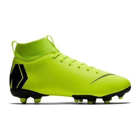 Neon gele kinder voetbalschoenen Nike JR Superfly 6 Academy GS FG/MG - AH7337 701
