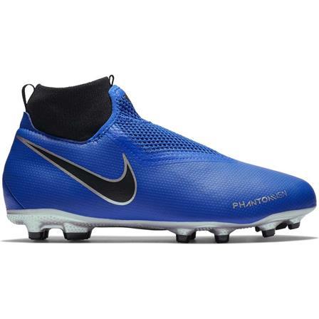 Blauwe kinder voetbalschoen Nike JR Phantom VSN Academy DF FG/MG - AO3287 400