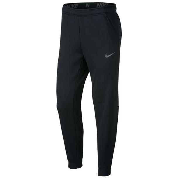Zwarte heren trainingsbroek Nike Tapered Therma - 932255 010