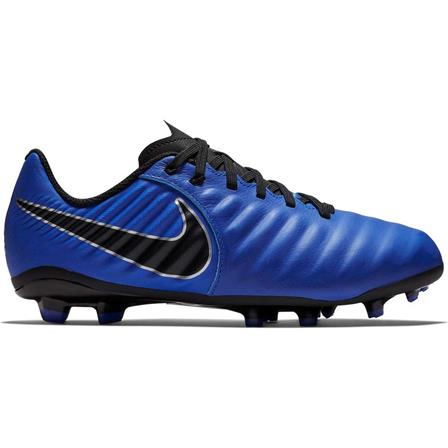 Blauwe kinder voetbalschoenen Nike JR Legend 7 Academy FG - 400