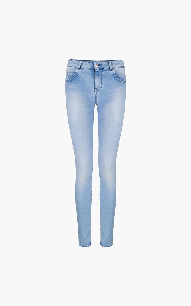 Lichte dames jeans Supertrash - Paradise italian crop sateen