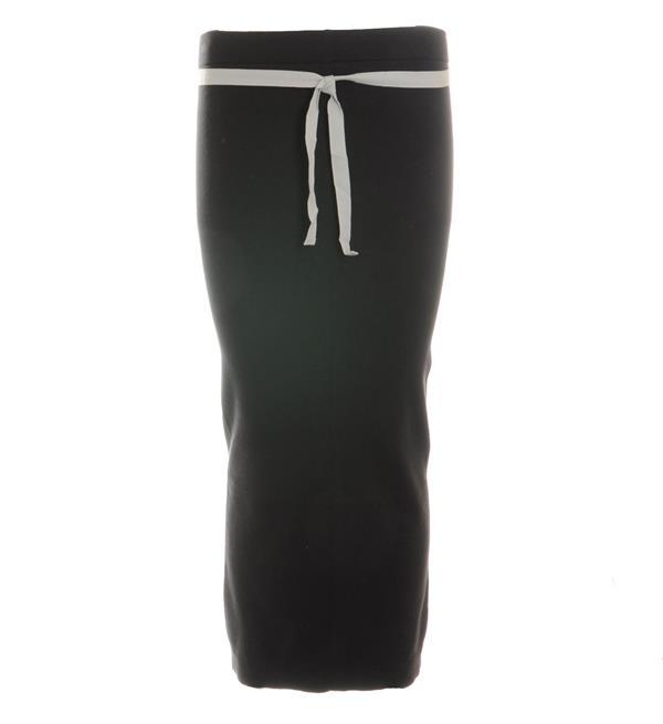 Grijze lange dames rok Penn & Ink - W216B014
