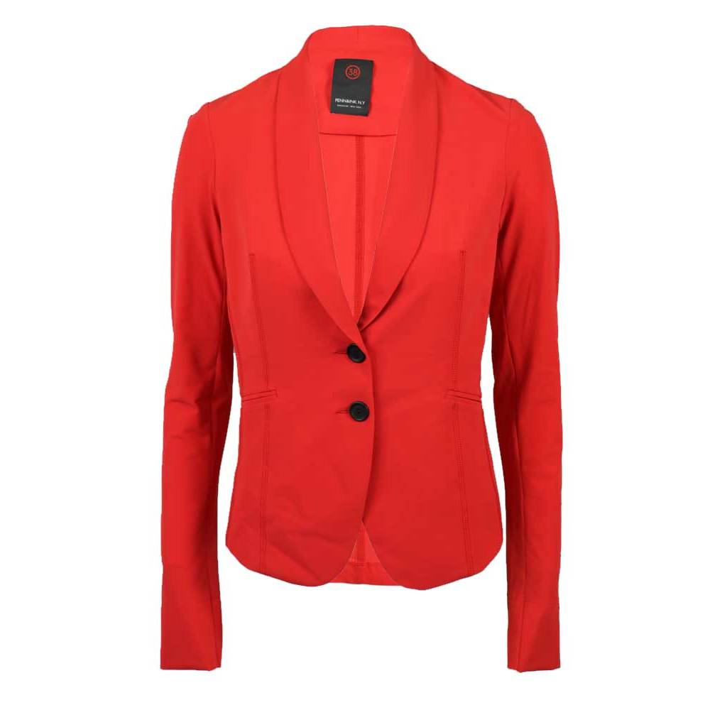 Rode dames blazer Penn&Ink - W216N20