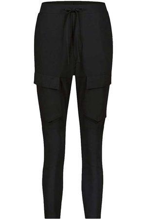 Zwarte dames broek - Penn&Ink - S21LTD-cargo - black