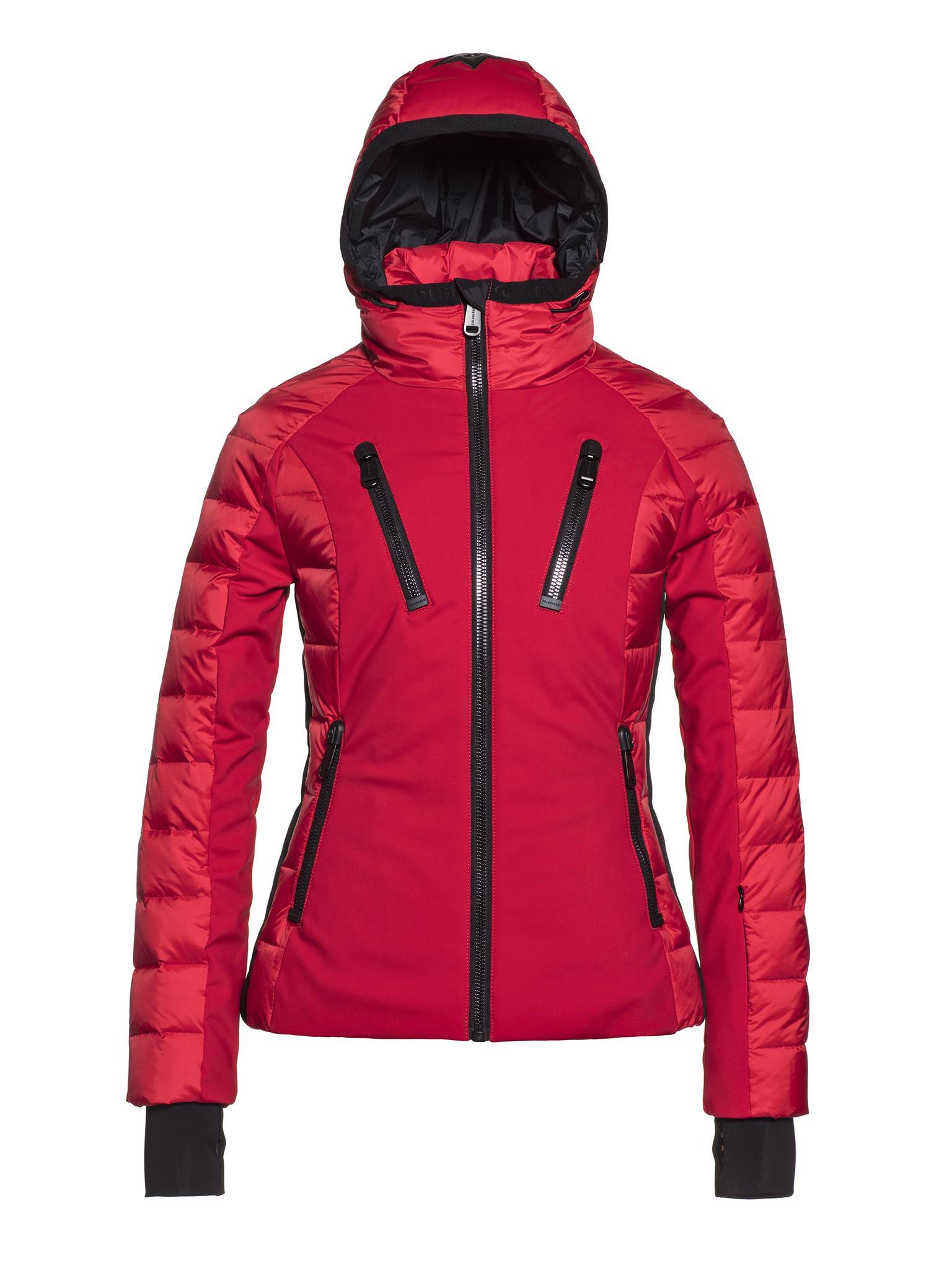 Rode dames winter jas Goldbergh - Fosfor - GB1613193