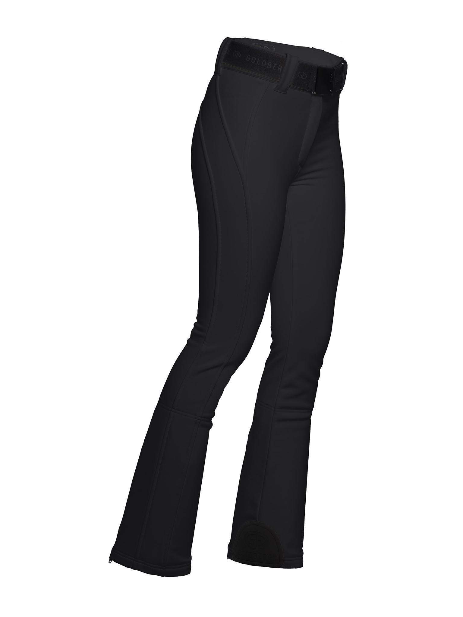 Zwarte dames ski broek Goldbergh - Pippa - GB0170193-900