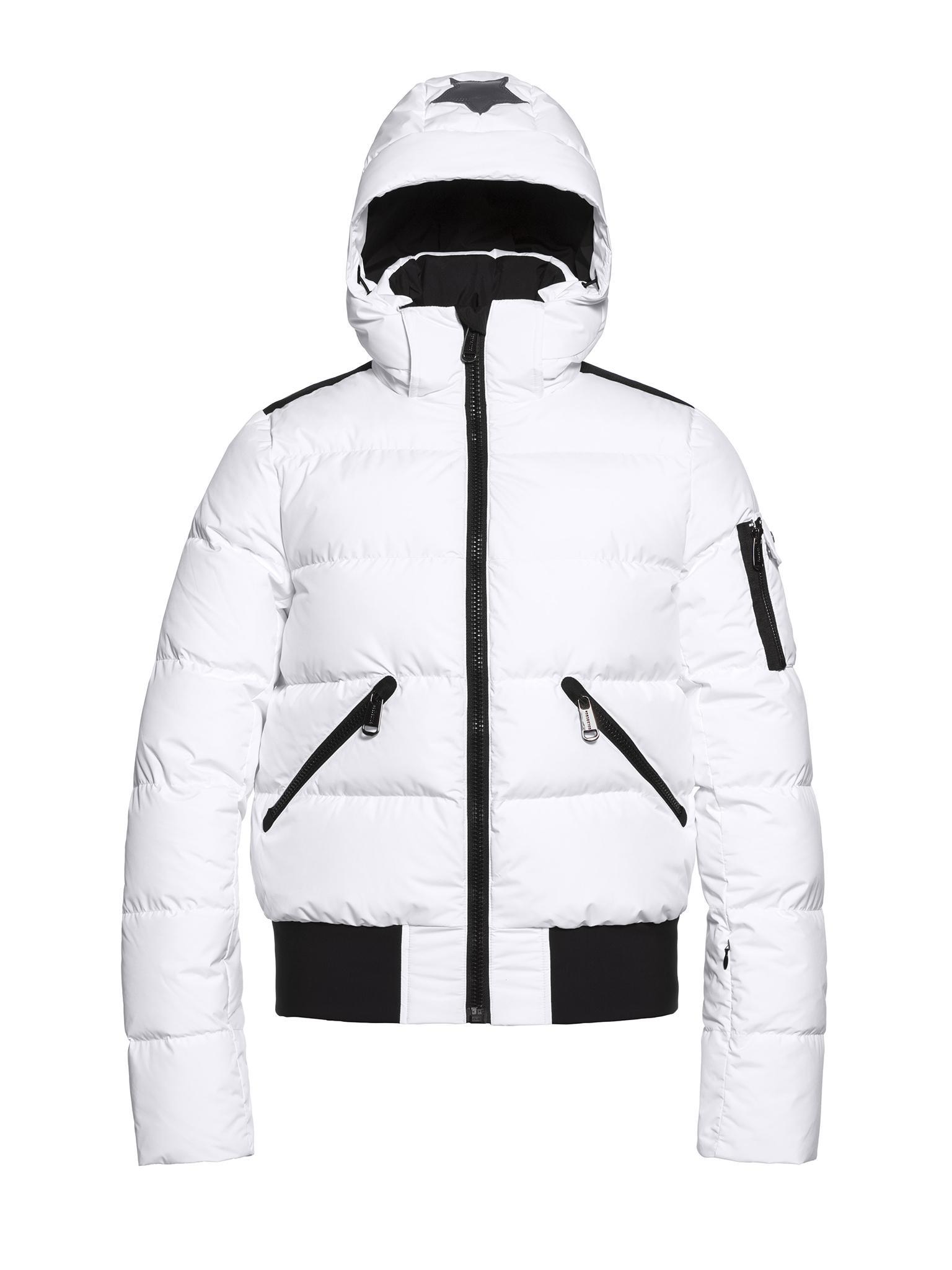 Witte dames winter/ski jas Goldbergh - Kohana - GB02-13-193-800