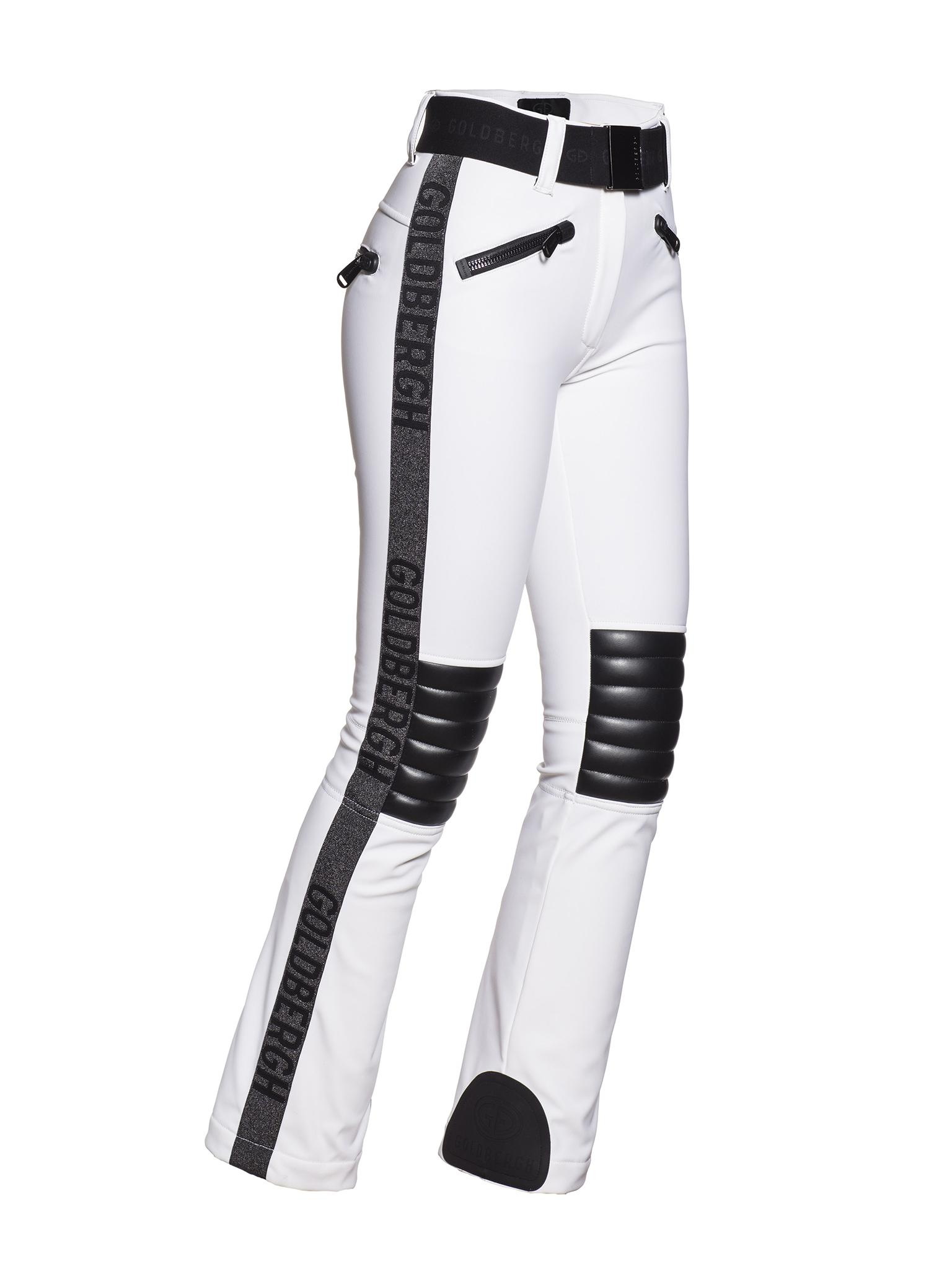 Witte dames skibroek Goldbergh - Rockey - GB16-74-193-800