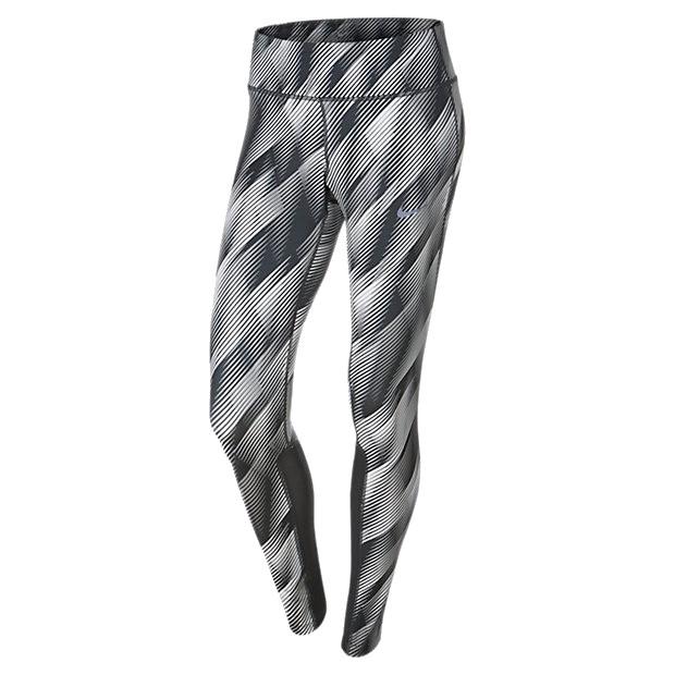 Zwart wit gekleurde dames tight Nike - 831650