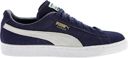 Blanc Noir Puma Suede Baskets Classique Unisexe - 356 568 IIBsiP